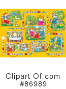 Royalty-Free (RF) Board Game Clipart Illustration #86989