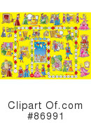 Royalty-Free (RF) Board Game Clipart Illustration #86991