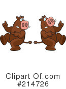 Boars Clipart #214726 by Cory Thoman