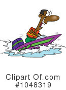 Royalty-Free (RF) Boat Clipart Illustration #1048319