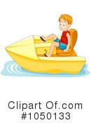 Royalty-Free (RF) Boat Clipart Illustration #1050133