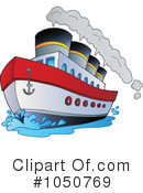 Royalty-Free (RF) Boat Clipart Illustration #1050769