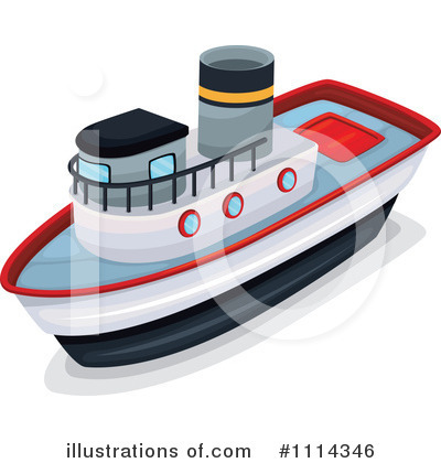 Boat Clipart #1114346 by Graphics RF