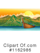 Royalty-Free (RF) Boat Clipart Illustration #1162986