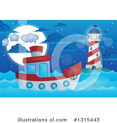 Lighthouse Clipart #1315443 by visekart