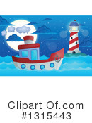 Royalty-Free (RF) Boat Clipart Illustration #1315443