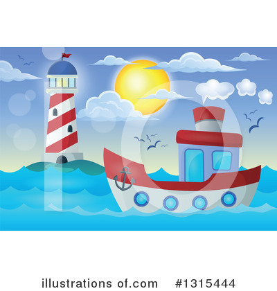 Lighthouse Clipart #1315444 by visekart
