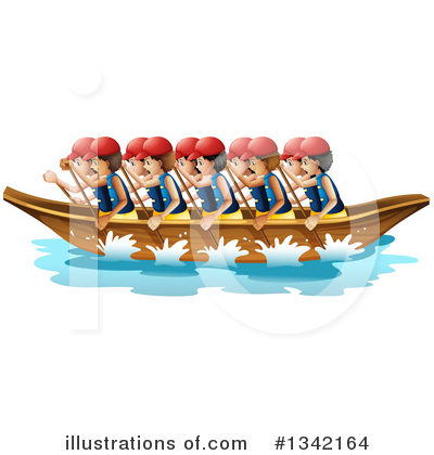 Boat Clipart #1342164 by Graphics RF