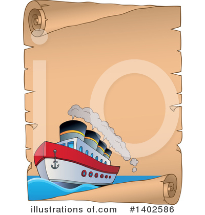 Ship Clipart #1402586 by visekart