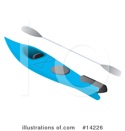 Kayaking Clipart #14226 by Rasmussen Images