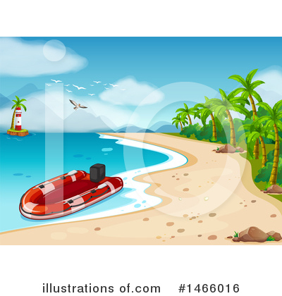 Royalty-Free (RF) Boat Clipart Illustration by Graphics RF - Stock Sample #1466016