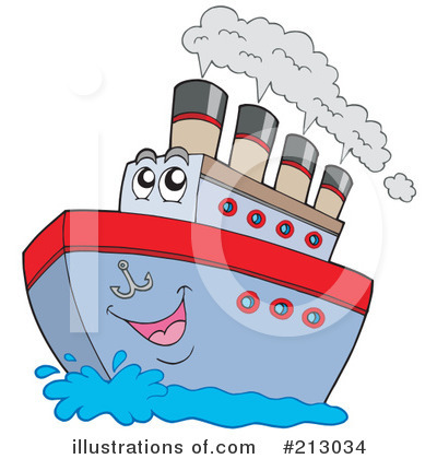 Ship Clipart #213034 by visekart