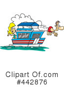 Royalty-Free (RF) boat Clipart Illustration #442876
