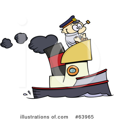 Royalty-Free (RF) Boat Clipart Illustration by gnurf - Stock Sample #63965