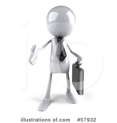 Royalty-Free (RF) Bob Character Clipart Illustration by Julos - Stock Sample #57932