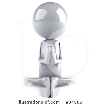 Meditating Clipart #84305 by Julos