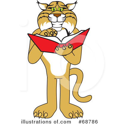 Book Clipart #68786 by Toons4Biz