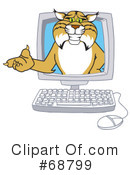 Bobcat Character Clipart #68799 by Toons4Biz