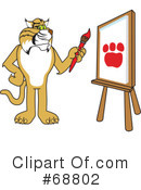Bobcat Character Clipart #68802 by Toons4Biz