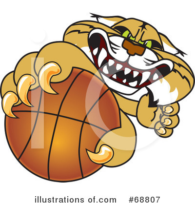 Basketball Clipart #68807 by Toons4Biz