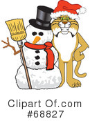 Royalty-Free (RF) bobcat character Clipart Illustration #68827