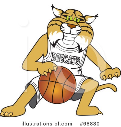 Basketball Clipart #68830 by Toons4Biz