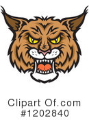 Bobcat Clipart #1202840 by Vector Tradition SM