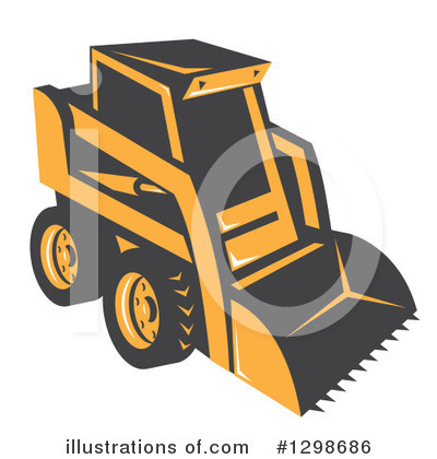 Heavy Machinery Clipart #1298686 by patrimonio