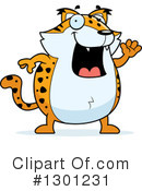 Bobcat Clipart #1301231 by Cory Thoman