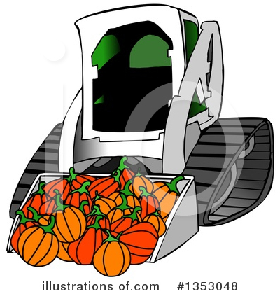Pumpkin Clipart #1353048 by djart