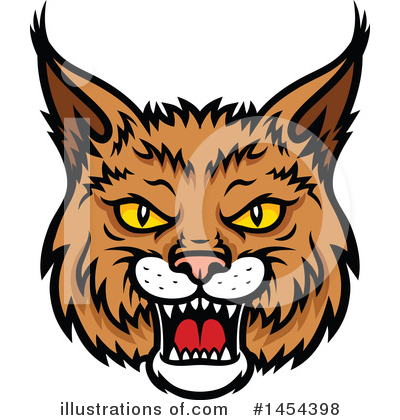 Bobcat Clipart #1454398 by Vector Tradition SM