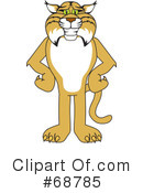 Bobcat Clipart #68785 by Toons4Biz