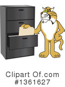 Bobcat School Mascot Clipart #1361627 by Toons4Biz
