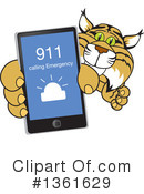 Bobcat School Mascot Clipart #1361629 by Toons4Biz