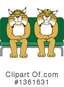 Bobcat School Mascot Clipart #1361631 by Toons4Biz