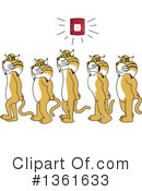 Bobcat School Mascot Clipart #1361633 by Toons4Biz