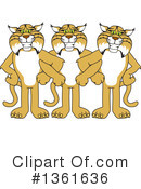 Bobcat School Mascot Clipart #1361636 by Toons4Biz