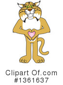 Bobcat School Mascot Clipart #1361637 by Toons4Biz