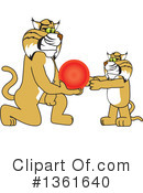 Bobcat School Mascot Clipart #1361640 by Toons4Biz