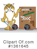 Bobcat School Mascot Clipart #1361645 by Toons4Biz