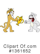 Bobcat School Mascot Clipart #1361652 by Toons4Biz