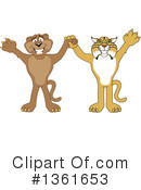 Bobcat School Mascot Clipart #1361653 by Toons4Biz