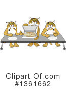 Bobcat School Mascot Clipart #1361662 by Toons4Biz