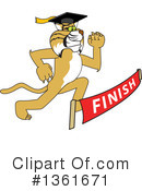 Bobcat School Mascot Clipart #1361671 by Toons4Biz