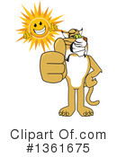 Bobcat School Mascot Clipart #1361675 by Toons4Biz