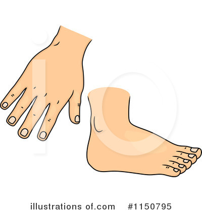 Body Parts Clipart #1150795 - Illustration by BNP Design ...