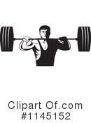 Royalty-Free (RF) Bodybuilder Clipart Illustration #1145152