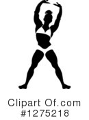 Royalty-Free (RF) Bodybuilder Clipart Illustration #1275218