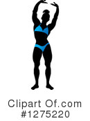 Royalty-Free (RF) Bodybuilder Clipart Illustration #1275220