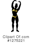 Royalty-Free (RF) Bodybuilder Clipart Illustration #1275221